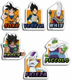 Dragon Ball Super Broly Group Sticker Set