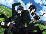 Black Butler Sebastian and Ciel Outside Wall Scroll