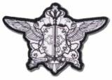 Black Butler Patch Pocketwatch Crest
