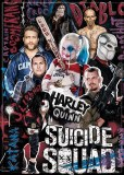 DC Suicide Squad Group with Graphitti Magnet