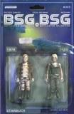 Bsg Vs Bsg #5 (Of 6) Cvr C Michael Adams Starbuck Action Fig
