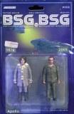 Bsg Vs Bsg #6 (Of 6) Cvr C Michael Adams Apollo Action Fig
