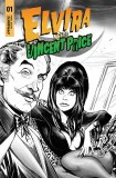 Elvira Meets Vincent Price #1 10 Copy Samu Variant