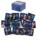 Doctor Who 13 Piece Coaster Set with Tin