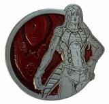 JoJo's Bizarre Adventure Antique Silver Diavolo Enamel Pin