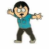 South Park Randy Down Pin