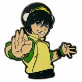 Avatar the Last Airbender Battle Ready Toph Enamel Pin
