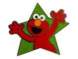 Sesame Street Elmo Star Pin