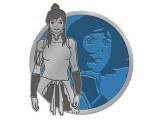 Legend of Korra Translucent Korra Portrait Series Enamel Pin