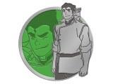 Legend of Korra Translucent Bolin Enamel Pin