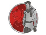 Legend of Korra Translucent Mako Enamel Pin