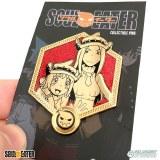 Soul Eater Golden Thompson Sisters Enamel Pin