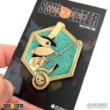 Soul Eater Golden Excalibur Enamel Pin
