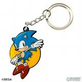 Leaping Sonic Classic Sonic The Hedgehog Collectible Keychain