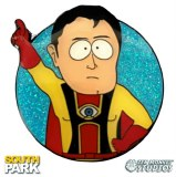 South Park Captain Hindsight Enamel Pin