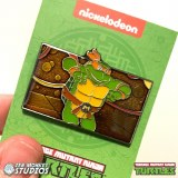 TMNT Michelangelo is a Party Dude Collectible Enamel Pin