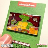 TMNT Raphael is Cool But Crude Collectible Enamel Pin