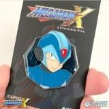 Mega Man X Circuit Board Enamel Pin