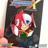 Mega Man X Zero Circuit Board Enamel Pin
