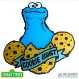 Sesame Street Cookie Adict Pin