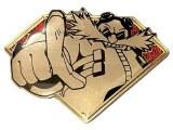 Sonic the Hedgehog Golden Series Doctor Eggman Enamel Pin