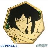 Lupin the 3rd Golden Goemon Enamel Pin