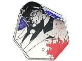 Baki the Grappler Silver Series Kaoru Hanayama Enamel Pin