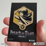 Attack on Titan Golden Armin Enamel Pin