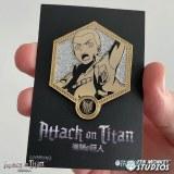 Attack on Titan Golden Connie Enamel Pin