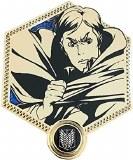 Attack On Titan gold Erwin enamel pin.