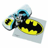 Batman Eyeglass Case with Cleaning Cloth