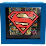Superman Shadow Box Bank