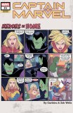 Captain Marvel #21 Heroes At Home Variant