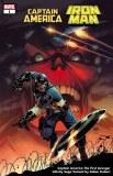 Captain America Iron Man #1 Clarke Infinity Saga Variant