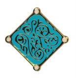 Witcher 3 Triss Medallion Enamel Pin