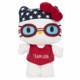 Hello Kitty Olympic Swimmer 6 In Plush Doll