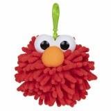 Sesame Street Elmo Fuzzy Pom Plush Clip