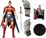 DC Multiverse Batman Last Knight on Earth Wonder Woman Action Figure w/ Bane Piece