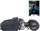 DC Multiverse Batman Curse of the White Knight Batcycle Vehicle