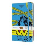 WonderWomanLimEd Blue Moleskine