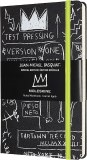 "Basquiat Moleskine Limited Edition Notebook Hard Cover Large 5"" x 8.25"" Ruled/Lined"