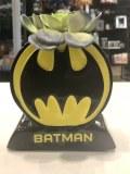 Batman Logo Ceramic Planter