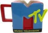 MTV Classic Logo Ceramic 3D Sculpted Mug