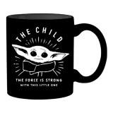 Star Wars Mandalorian The Child 14oz Force is Strong Mug