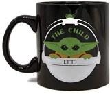 SW The Mandalorian The Child pod 14oz black mug
