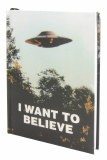 X-Files I Want To Believe HC Journal