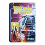 Back to the Future ReAction Fifties Doc Brown Action Figure