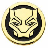 Black Panther Enamel Logo Pin