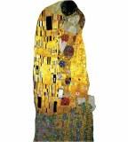Klimt's The Kiss Notecard