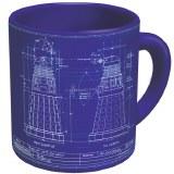 Doctor Who Genesis of the Daleks Dalek Mug